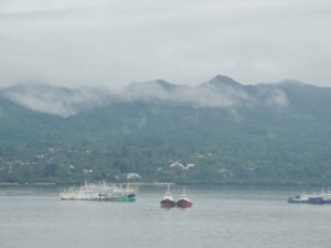 Intensely humid Fiji