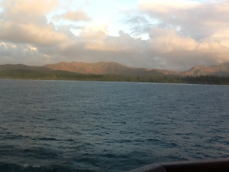 Rollin' down the river to Noumea