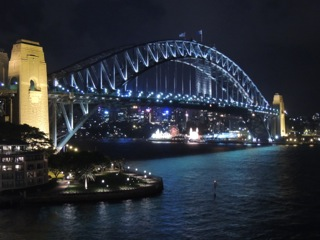 Goodnight Sydney....and Goodbye