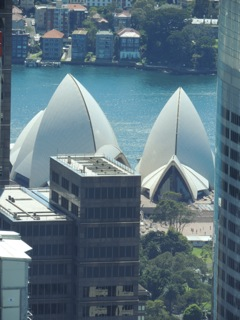 A different view of the Opera House