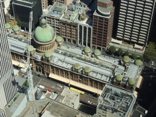 As in London, the new buildings have dwarfed some of the city's heritage