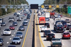 The rush-hour tolls will be automated, meaning drivers who use the lanes without an E-ZPassFlex switched to HOV mode will automatically get a bill. (WTOP Dave Dildine)