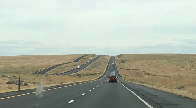 From Ellensburg to Missoula – 369 miles