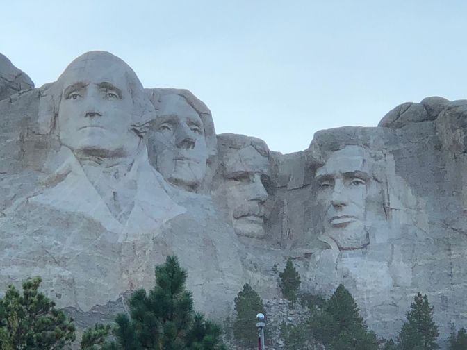 Cody to Mt Rushmore – 379 miles