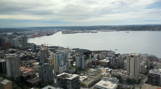 Seattle – no driving today