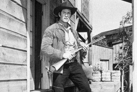 "No Merchandising. Editorial Use Only Mandatory Credit: Photo by REX/Shutterstock (138266f) CLINT WALKER IN ""CHEYENNE"" TV VARIOUS"