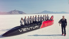 Electric car speed records have also been set at Bonneville with the most recent achievement being 341.4 mph! Wow!